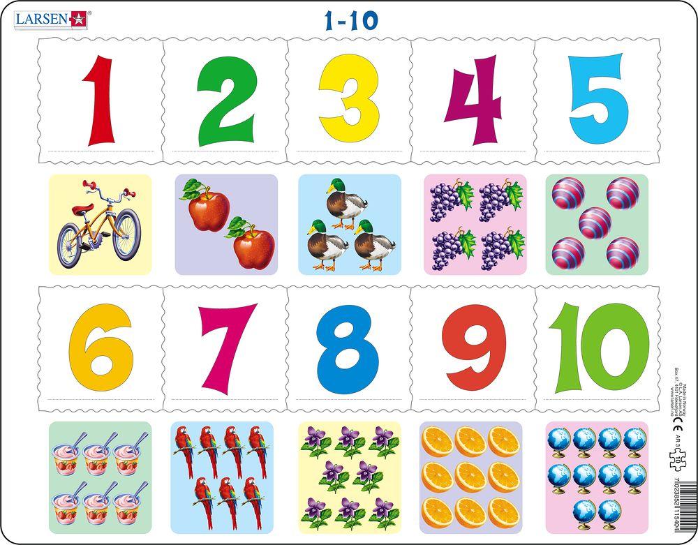 Учим числа картинки