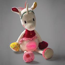 86745 Единорожка Луиза: музыкашльная игрушка - ночник, фото , изображение 2