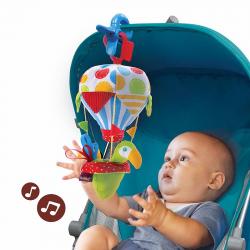 Игровой набор Yookidoo «Попугай на воздушном шаре» погремушка и прорезыватель, фото , изображение 3