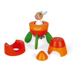 """Конструктор магнитный """"Кролик в ракете"""", фото , изображение 5"""