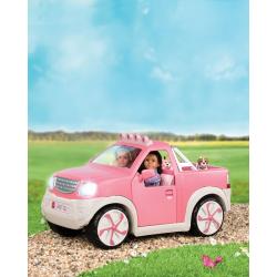 Пикап для куклы с настоящим FM-радио, фото