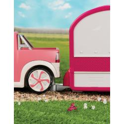 Пикап для куклы с настоящим FM-радио, фото , изображение 5