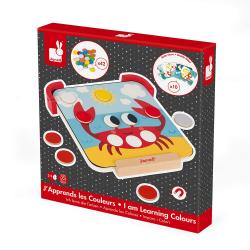 """Сортер-игра с магнитными элементами; серия """"Я учу цвета"""", фото , изображение 2"""