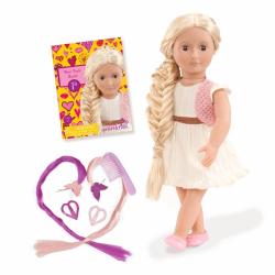 11524 Кукла делюкс 46 см с растущими волосами Фиби), фото