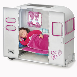 11566 Жилой автоприцеп для куклы 46 см, фото