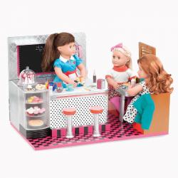 11586 Ретро-кафе для куклы 46см., фото