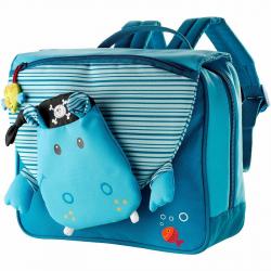 Школьный рюкзак Lilliputiens «Бегемотик Арнольд» , фото