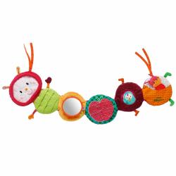 86374 Гусеница Джульетта: развивающая игрушка на кроватку, фото