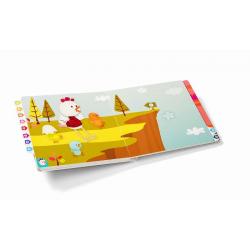 Развивающая интерактивная книжка-лабиринт Lilliputiens «Курочка Офелия» , фото , изображение 4