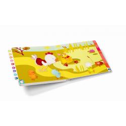 Развивающая интерактивная книжка-лабиринт Lilliputiens «Курочка Офелия» , фото , изображение 5
