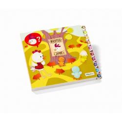 Развивающая интерактивная книжка-лабиринт Lilliputiens «Курочка Офелия» , фото , изображение 6