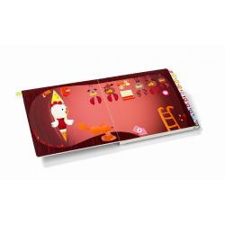 Развивающая интерактивная книжка-лабиринт Lilliputiens «Курочка Офелия» , фото , изображение 8