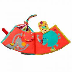 86544 Цирк Шапито: мягкая развивающая книжка-игрушка, фото , изображение 6