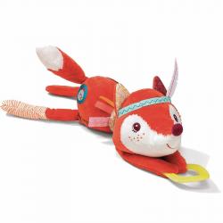 Развивающая интерактивная мягкая игрушка Lilliputiens «Лиса Алиса» , фото