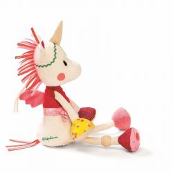 86745 Единорожка Луиза: музыкашльная игрушка - ночник, фото , изображение 3