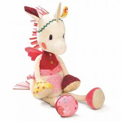 86745 Единорожка Луиза: музыкашльная игрушка - ночник, фото