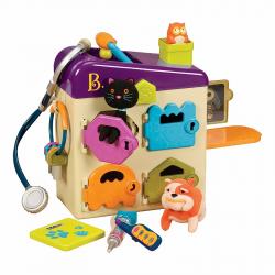 Ветеринарный набор B.Toys (Battat) фиолетовая крышка, фото