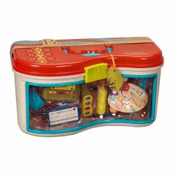 Медицинский набор B.Toys (Battat) оранжевая крышка, фото , изображение 2