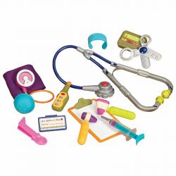 Медицинский набор B.Toys (Battat) оранжевая крышка, фото , изображение 3