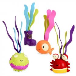 Набор игрушек для ванной B.Toys (Battat) «Акула», фото , изображение 2