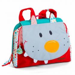 86775 Волк Николас: дошкольный рюкзак А5, фото