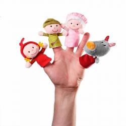 Пальчиковые игрушки Lilliputiens: Красная шапочка , фото