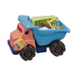 Большой самосвал и игровой набор для песка B.Toys (Battat), фото , изображение 2