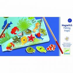 DJECO Магнитная игра Тропическая рыбалка, фото , изображение 3