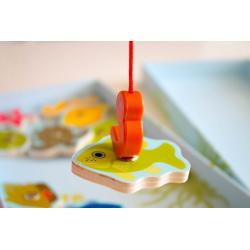 DJECO Магнитная игра Тропическая рыбалка, фото , изображение 5