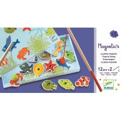 DJECO Магнитная игра Тропическая рыбалка, фото , изображение 6