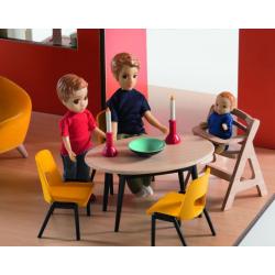 DJECO Дом-кубик для кукол, фото , изображение 2