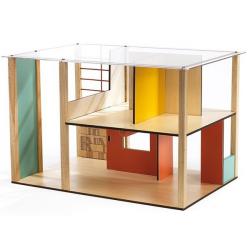 DJECO Дом-кубик для кукол, фото , изображение 3