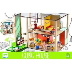 DJECO Дом-кубик для кукол, фото , изображение 4