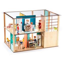 DJECO Дом-кубик для кукол, фото , изображение 5