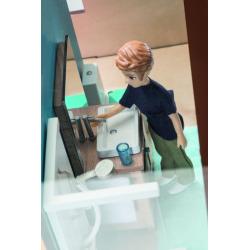 DJECO Дом-кубик для кукол 07801, фото , изображение 7