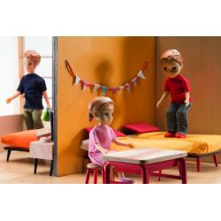 DJECO Дом-кубик для кукол, фото , изображение 8