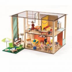 DJECO Дом-кубик для кукол, фото