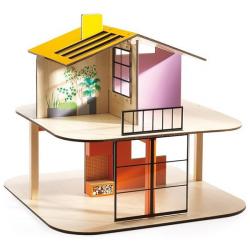 DJECO Дом цветной для кукол, фото , изображение 4