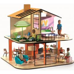 DJECO Дом цветной для кукол, фото