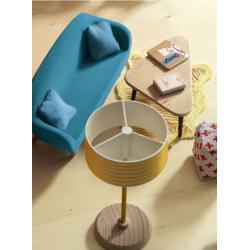 DJECO Мебель для кукольного дома Оранжевая гостиная, фото , изображение 2