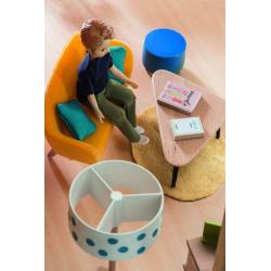 DJECO Мебель для кукольного дома Оранжевая гостиная, фото , изображение 3
