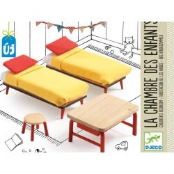 DJECO Мебель для кукольного дома Спальня для детей, фото