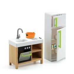 DJECO Мебель для кукольного дома, Кухня 07833, фото