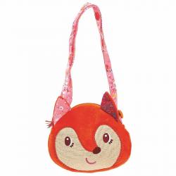 Мягкая сумочка через плечо Lilliputiens «Лиса Алиса» , фото