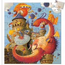 DJECO Пазл, Рыцарь и дракон 07256, фото