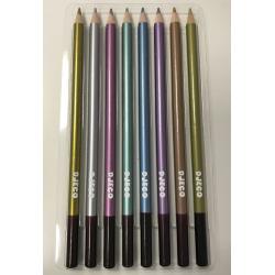 DJECO Набор карандашей металлик, 12 шт. 09753, фото , изображение 4