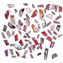 Карточки Janod с магнитными пазлами «Части тела», фото , изображение 8