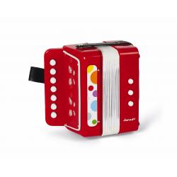 J07620 Аккордеон, красный, фото , изображение 4