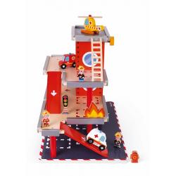 """J05717 Набор игровой """"Пожарная станция"""" большой, фото , изображение 4"""