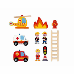 """J05717 Набор игровой """"Пожарная станция"""" большой, фото , изображение 5"""